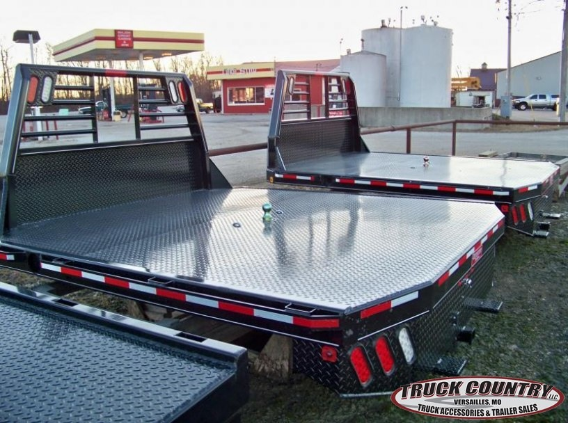 97x102 Zimmerman Steel Truck Bed