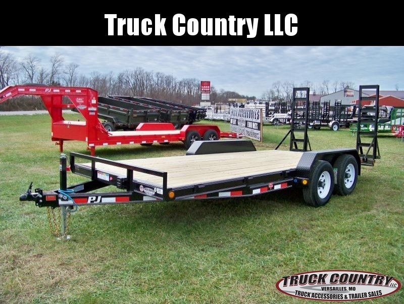 2018 PJ Trailers CE 18' Equipment Trailer