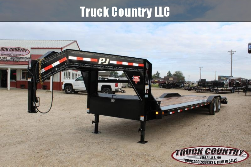 2019 PJ Trailers H7 32' gooseneck superwide Equipment Trailer