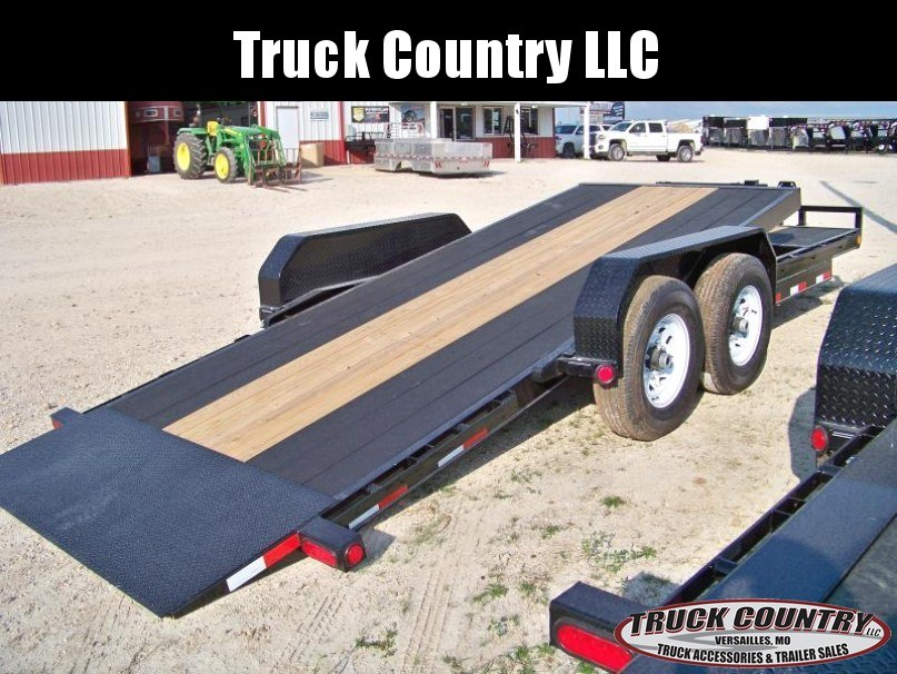 2018 PJ Trailers T6 22 tilt Equipment Trailer