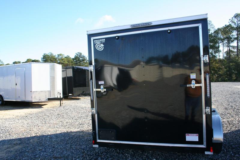 2019 Precision 7X12 TA Enclosed Cargo Trailer
