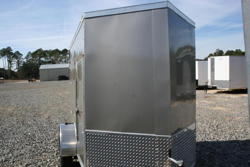 2019 Precision 5x8 SA Enclosed Cargo Trailer