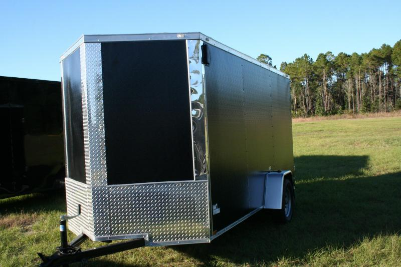 2019 Precision 6x12 SA Enclosed Cargo Trailer