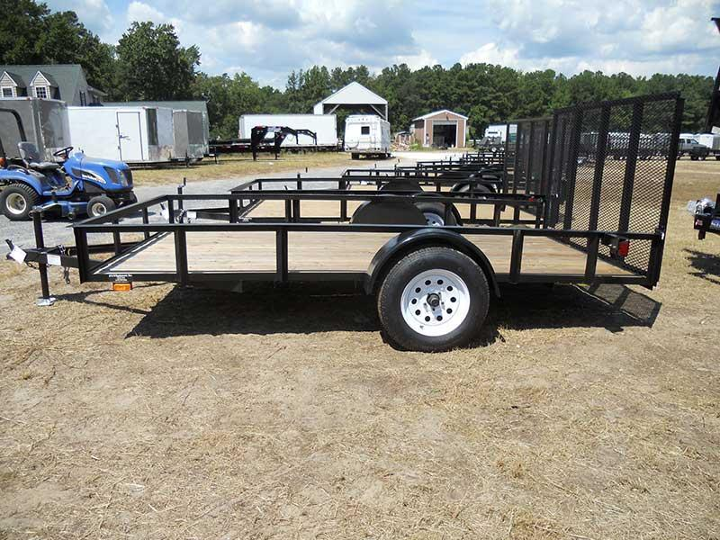 83 X 12 Single Axle Utility Trailer