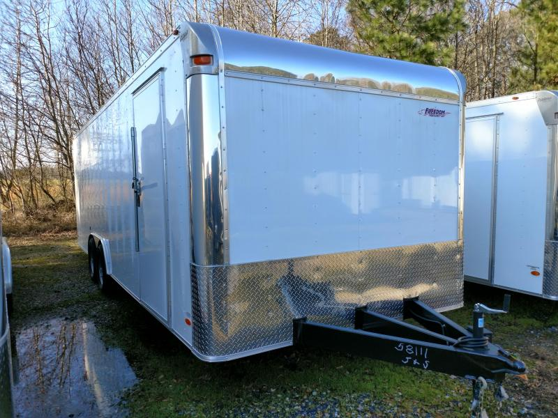 2018 Freedom Trailers 8.5x20 Car / Racing Trailer