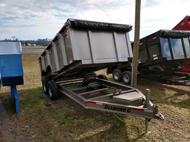 2019 Diamond C Trailers 48HDT 82x14 w/ 44 in. Side Dump Trailer