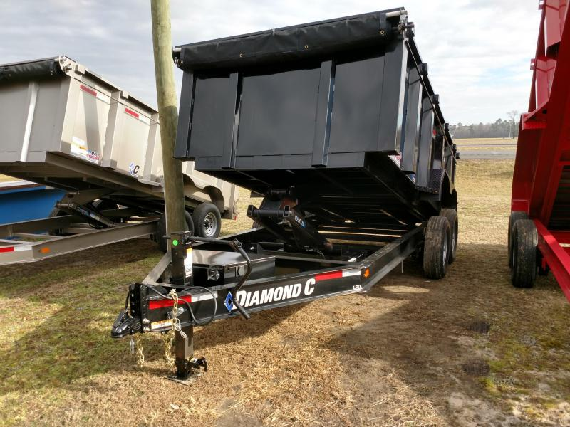 2019 Diamond C Trailers 48HDT 82x14 w/ 44in. side and HD ram Dump Trailer