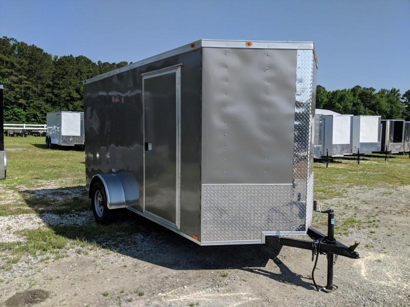 2019 Empire Cargo 6X12 Enclosed Cargo Trailer