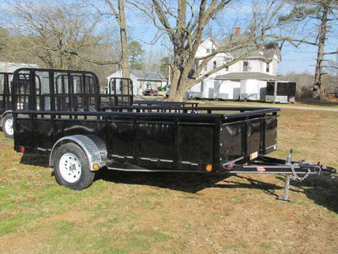 PJ Trailers Single Axle High Sides