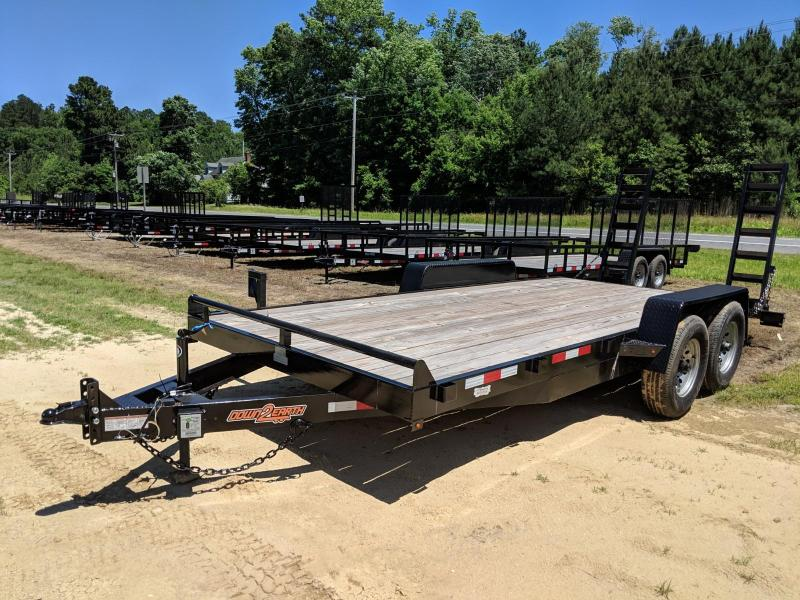 2018 Down 2 Earth Trailers 12K EQ Equipment Trailer