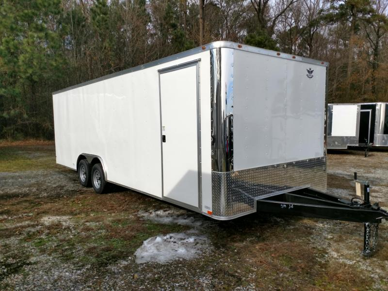2019 Empire Cargo 8.5x24 Flat Front Car / Racing Trailer