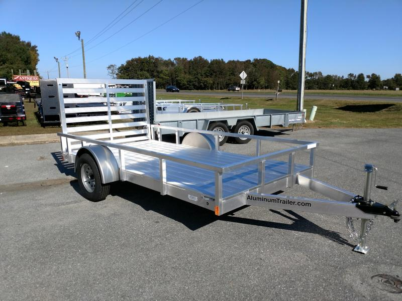 2019 Aluminum Trailer Company 6x12 Single Axle Utility Utility Trailer