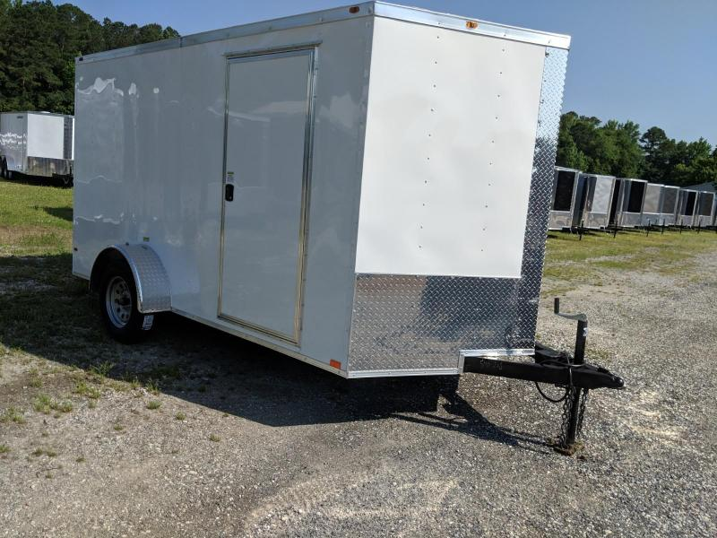 2019 Empire Cargo 7X12 Enclosed Cargo Trailer