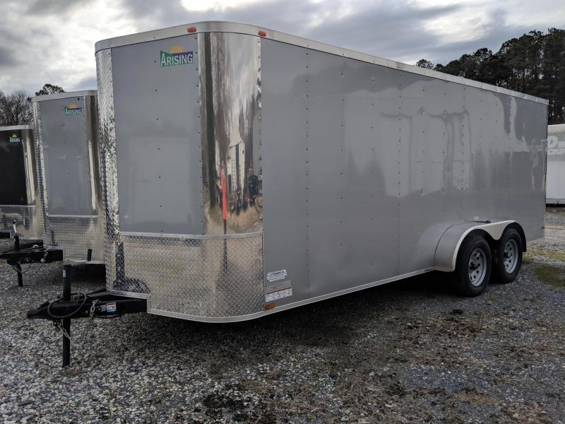 2018 Arising 7X18 Enclosed Cargo Trailer