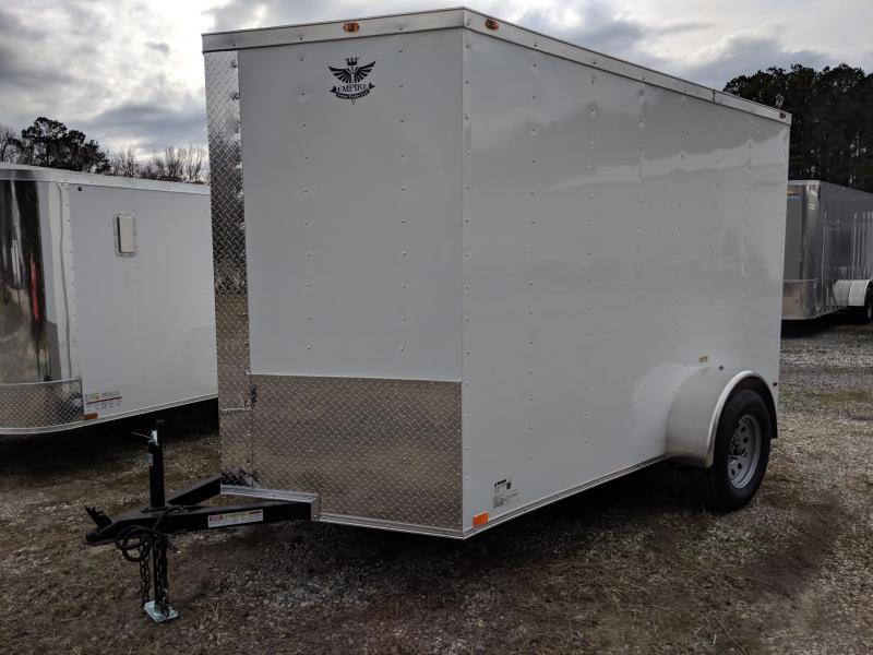 2019 Empire Cargo 6X10SA Enclosed Cargo Trailer