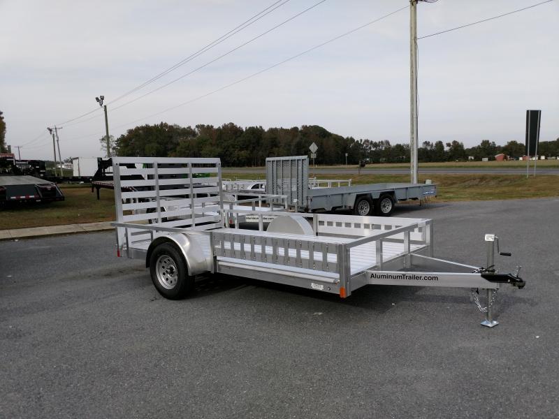 2019 Aluminum Trailer Company 80x12 Single Axle w/ ATV Ramps Utility Trailer