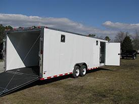 8.5 X 28 Freedom Enclosed Car Hauler