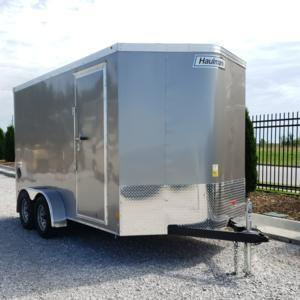 Haulmark 7x14 Tandem Axle Enclosed Cargo Trailer w/ UTV Package