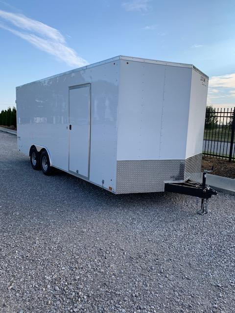 Look 8.5x20 Tandem Axle Enclosed Cargo Trailer