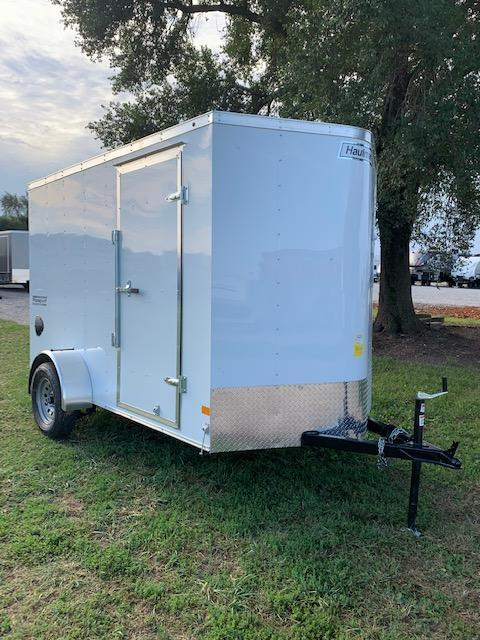 Haulmark 6x10 Single Axle Enclosed Cargo Trailer w/ 78