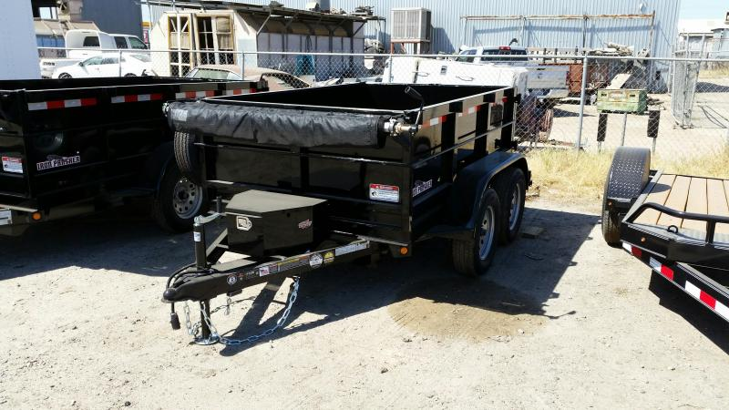 2017 Iron Panther D7 LD 5X8 Dump Trailer