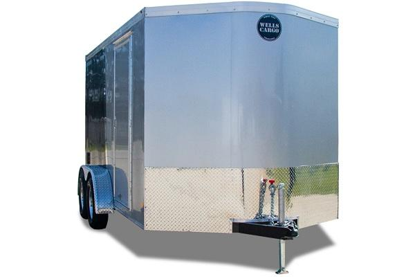 2019 Wells Cargo RFV712T2 Enclosed Cargo Trailer