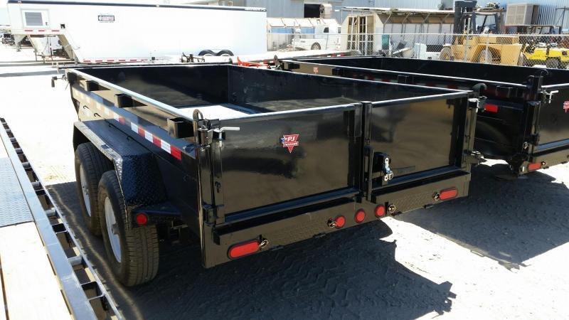 2018 PJ Trailers 2 Axle Dump