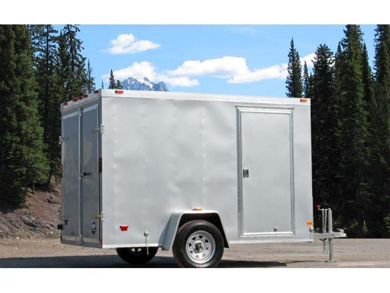 2017 Wells Cargo 6X10 Enclosed Trailer