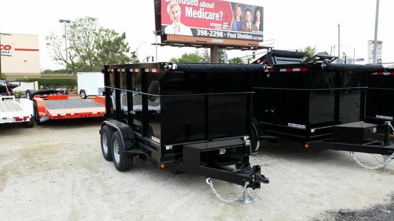 2017 Iron Panther DT098 Dump Trailer