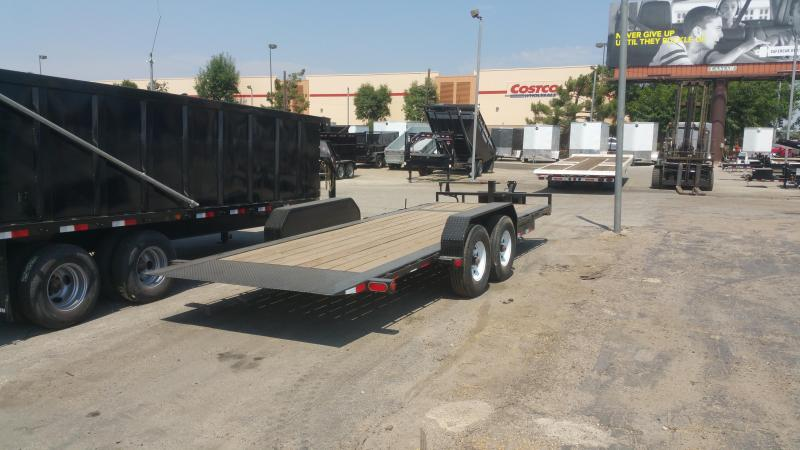 2017 PJ Trailers TJ202 Equipment Trailer Heavy Duty