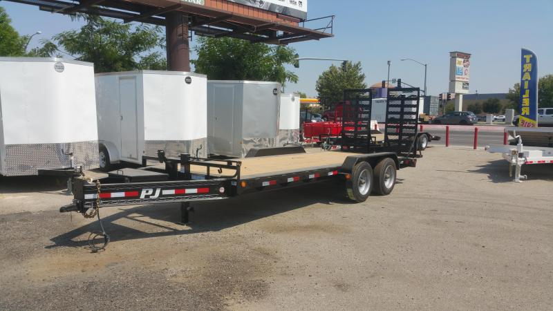 2018 PJ Trailers H5202 Equipment Trailer