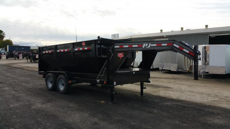 2017 PJ  DR142 Roll Off Dump Trailer