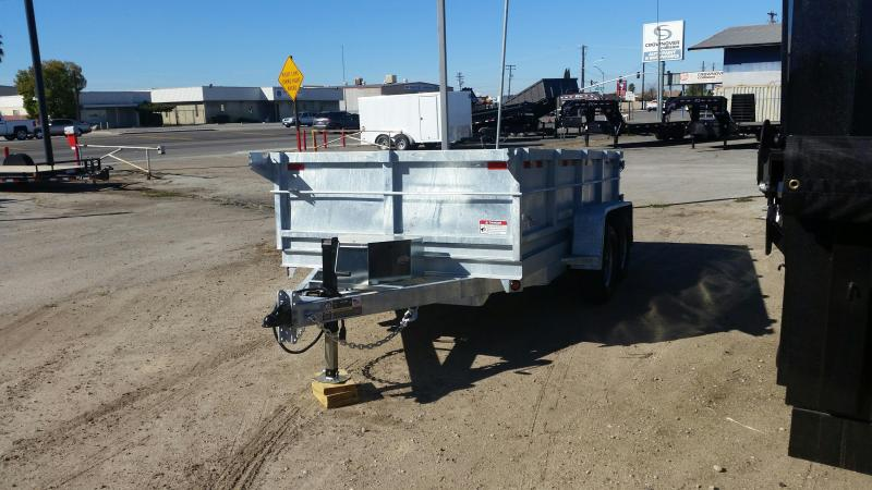 2016 Iron Panther D10LD Galvanized Dump Trailer