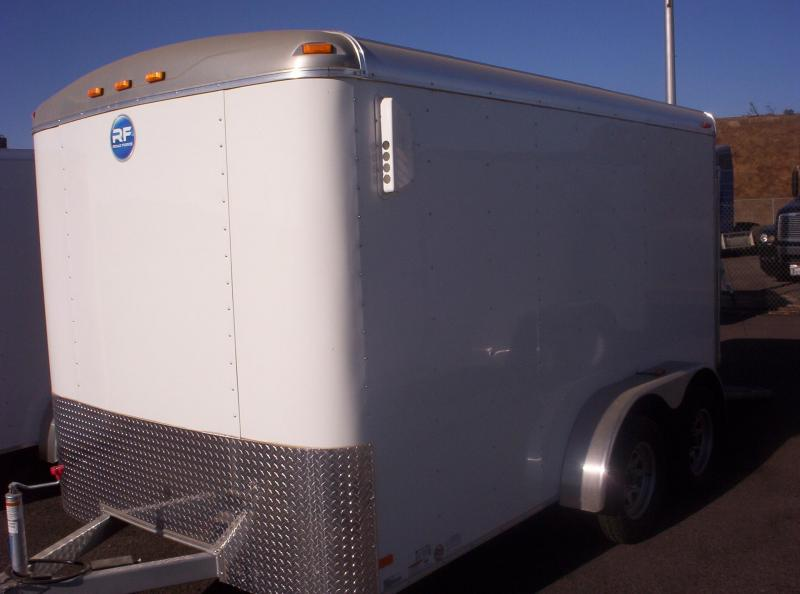 2017 Wells Cargo RF7162 Enclosed Cargo Trailer