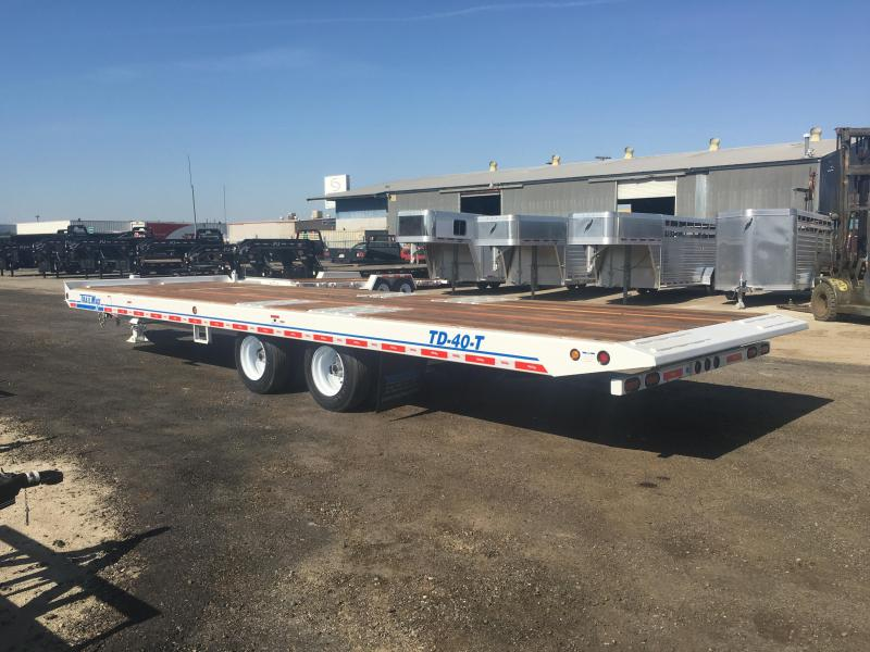 2017 TrailMax TD-40-T(5+25) Equipment Trailer