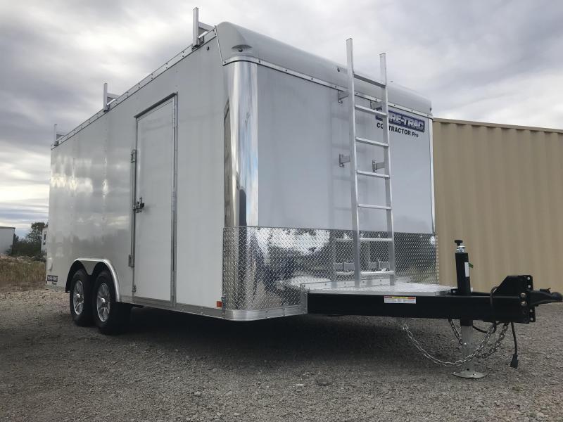 2017 Sure-Trac 8.5 x 16 Contractor Pro BN Cargo TA 10K