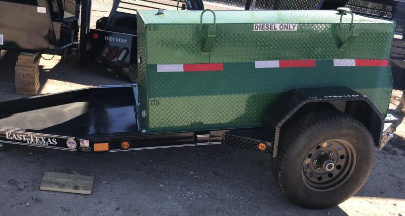 2019 East Texas 4x6 300 Gallon Diesel Fuel Tank Utility Trailer