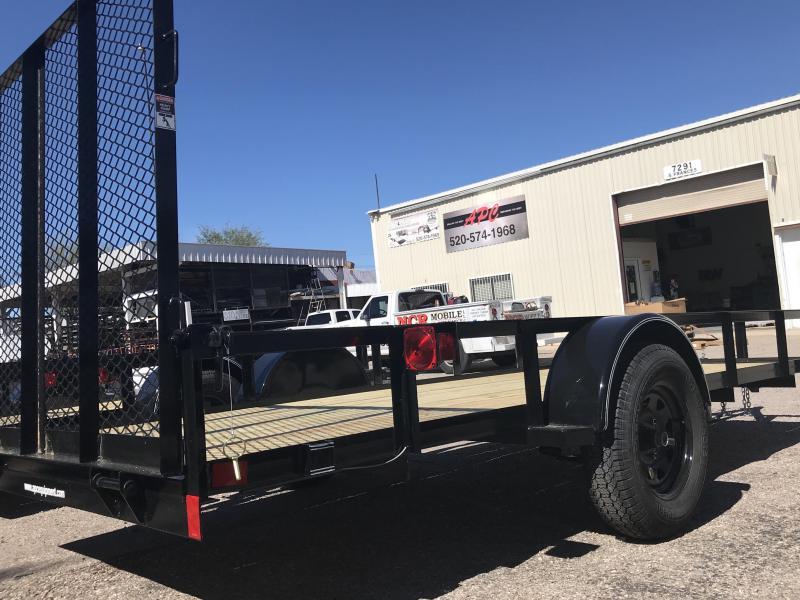 2019 East Texas 68x14 SA Utility Trailer