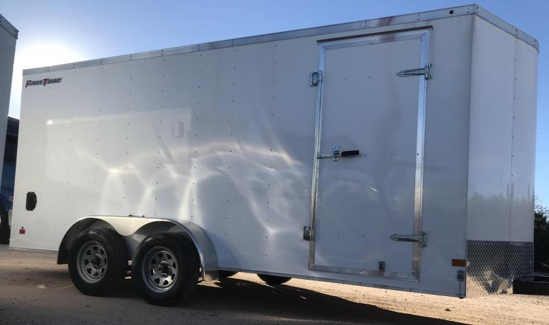 2019 Wells Cargo 7x16 FT Enclosed Cargo Trailer