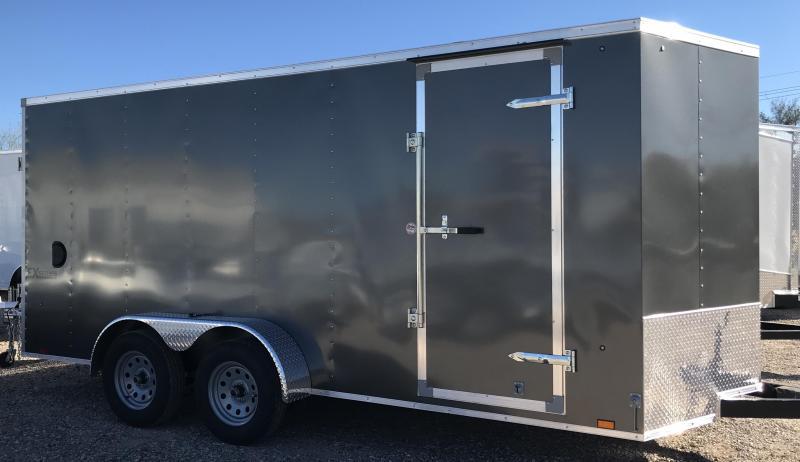 2019 Cargo Express 7x16 T/A EXV Enclosed Cargo Trailer