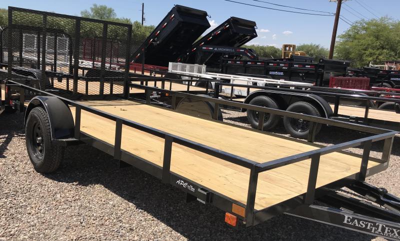 2019 East Texas 77x14 SA Utility Trailer