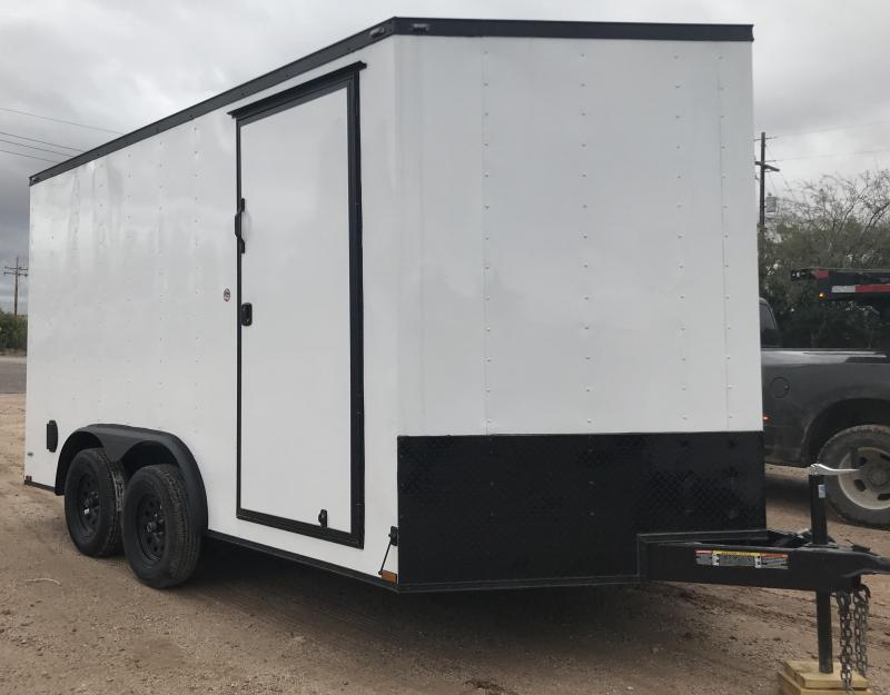2019 Lark 8x14 VT Enclosed Cargo Trailer