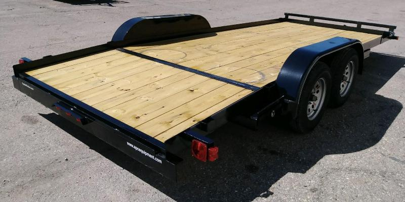 2019 Top Hat Trailers 83x18 CH Flatbed Trailer