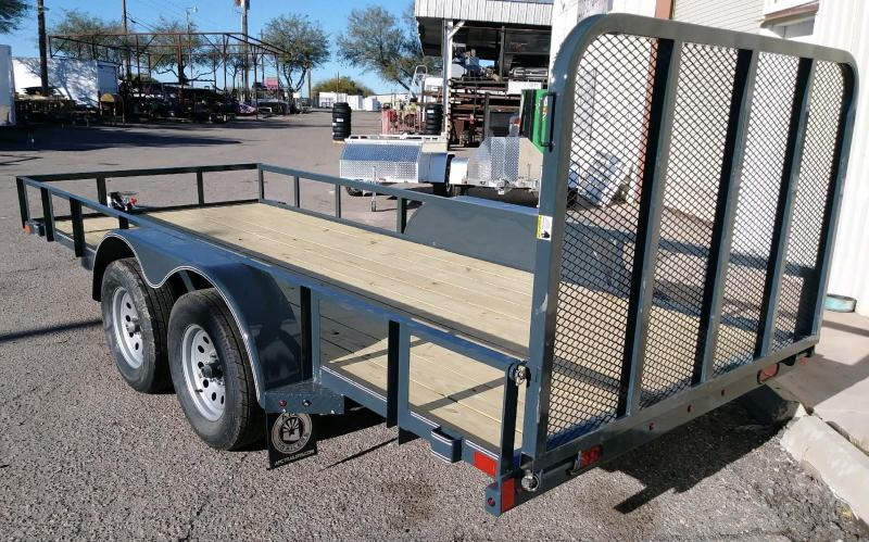 2019 X-On 77x16 T/A Utility Trailer