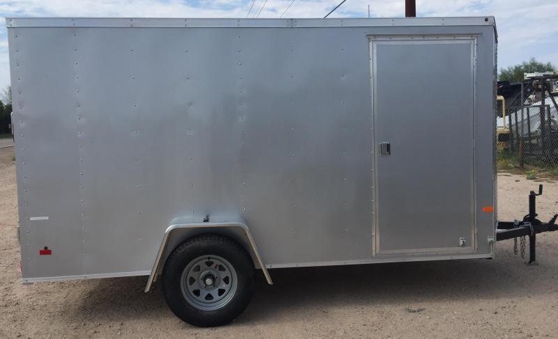 2017 Haulmark 6x12 S/A Thrifty Enclosed Cargo Trailer