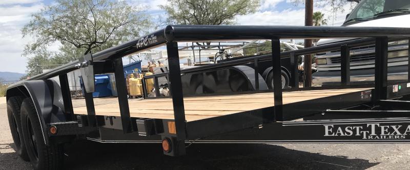 2018 East Texas 77x14 T/A Premium Utility Trailer