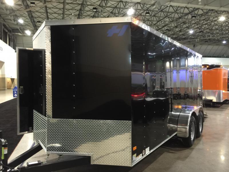 2017 Haulmark 7x16 Thrifty Enclosed Cargo Trailer