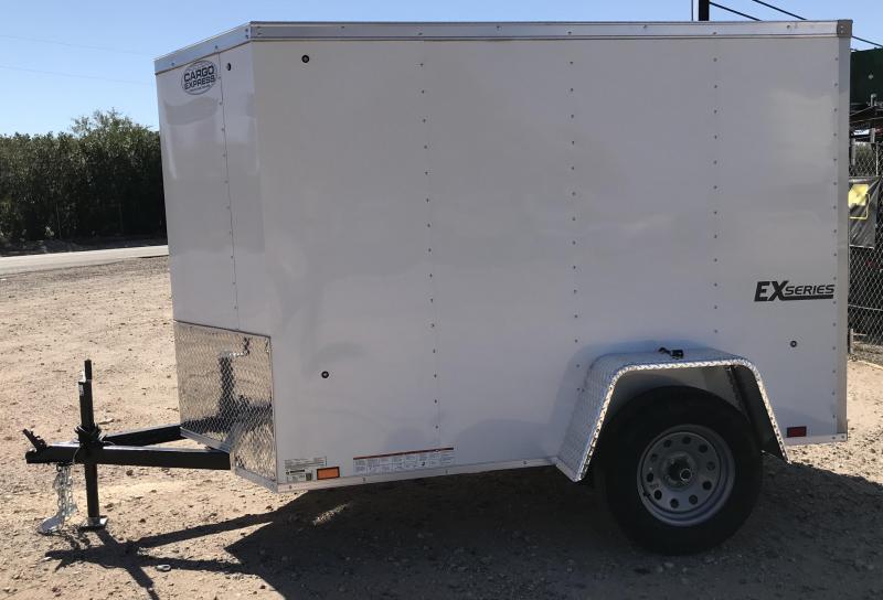 2019 Cargo Express 5X8 EXV Enclosed Cargo Trailer