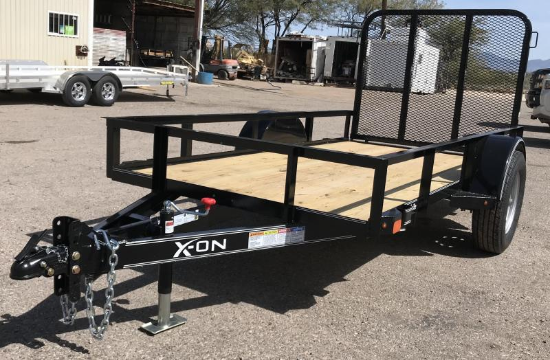 2019 X-On 5x10 S/A Utility Trailer