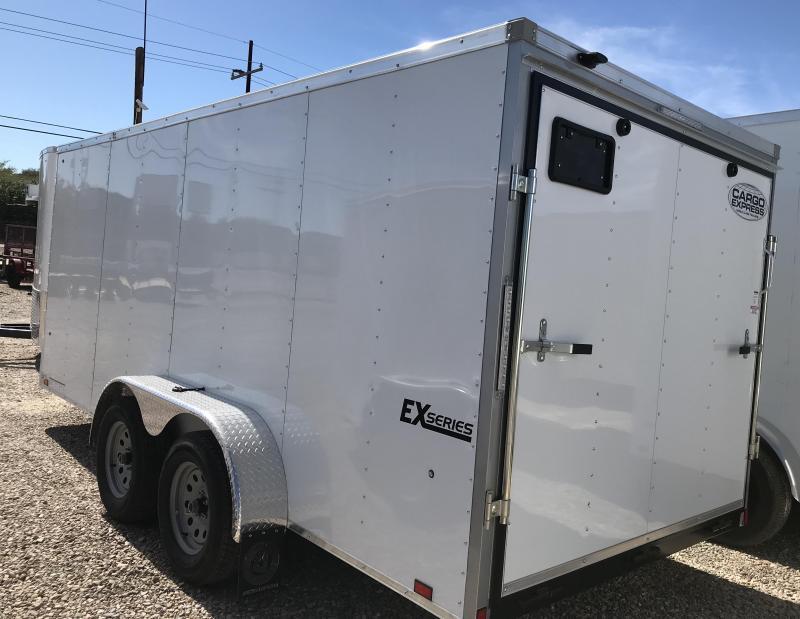 2019 Cargo Express 7x14 T/A EX Enclosed Cargo Trailer